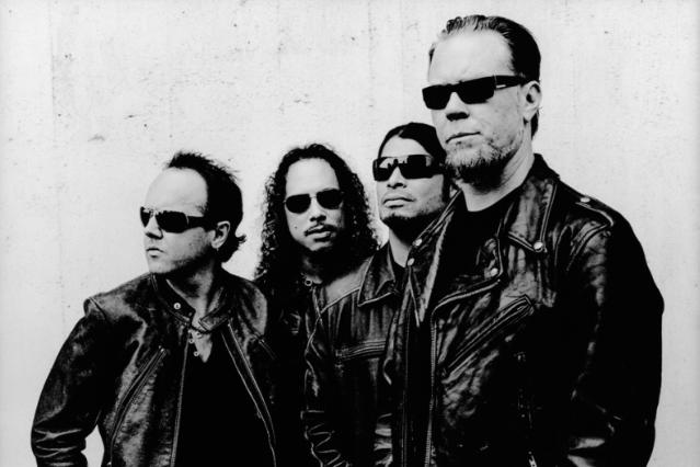 Metallica / Photo by Anton Corbijn