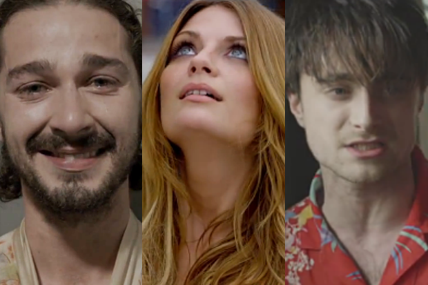 Shia LaBeouf, Mischa Barton, and Daniel Radcliffe get their Indie on