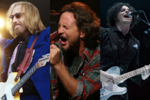 Tom Petty, Eddie Vedder, Jack White / Photo by Cheryl Dunn (Petty); Getty Images (Vedder); Jim Bennett (White)