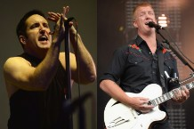 Nine Inch Nails, Queens of the Stone Age, Trent Reznor, Josh Homme, tour