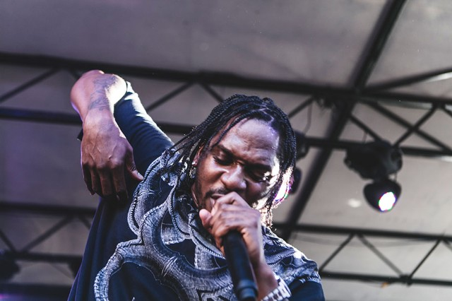 Pusha T at SPIN's House of Vans Showcase at Mohawk, Wednesday, March 12, 2014 / Photo by Jake Giles Netter