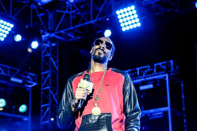 Snoop Dogg at Starr Building, Saturday, March 15, 2014 / Photo by Krista Schlueter