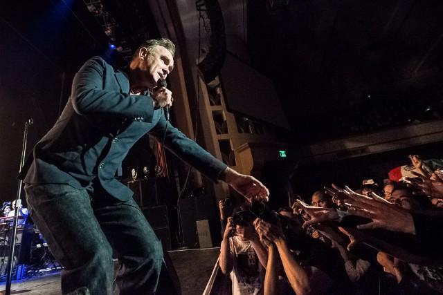 Morrissey at City National Civic, San Jose, California, May 7, 2014 / Photo by Wilson Lee