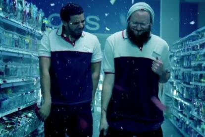 Drake and OB O'Brien, drug store clerks