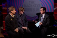 Watch the Black Keys' Self-Deprecating 'Colbert' Visit