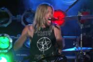 Taylor Hawkins' Birds of Satan Make Network Debut on 'Kimmel'