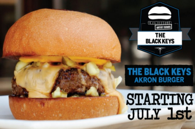 Black Keys Burger Akron Umami Charity