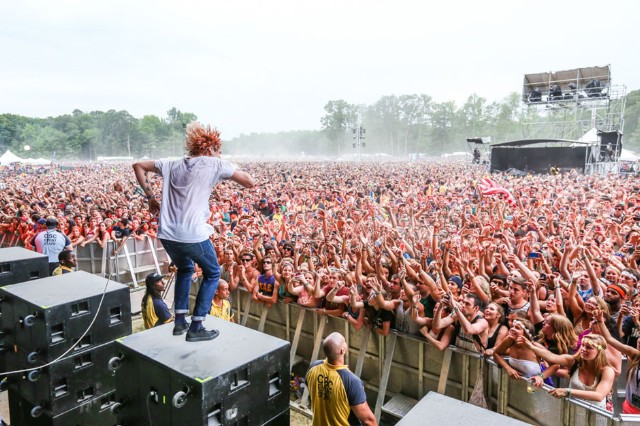 Grouplove at Firefly Music Festival, Dover, Delaware, June 19-22, 2014 / Photo by Joe Papeo