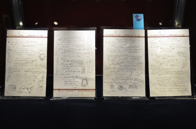 Bob Dylan Like A Rolling Stone Manuscript Auction 2 million
