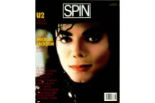 Michael Jackson on the June 1987 cover of SPIN