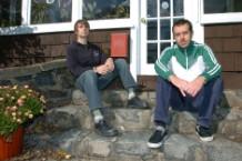 Darren Walters and Tim Owen of Jade Tree records