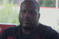 Rapping Shaquille O'Neal Petitions Pharrell for Inclusion on Video Game Soundtrack