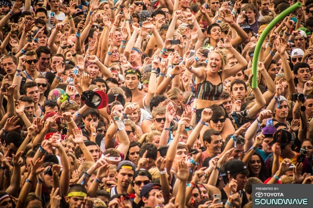 SPIN at Lollapalooza 2014: Toyota Presents Soundwave Schedule