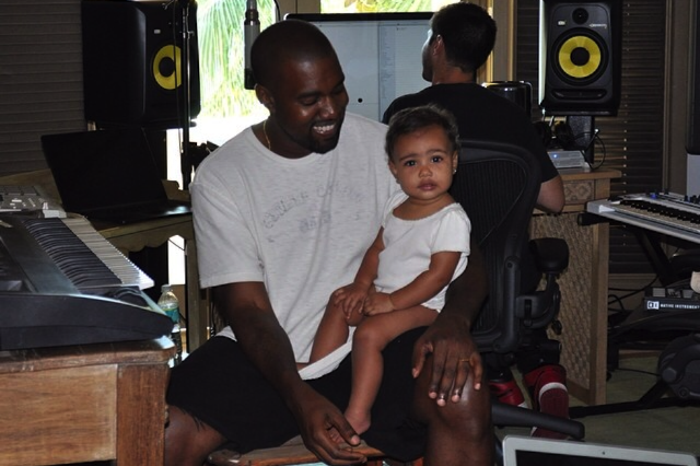 Kanye West Take Your Daughter to Work Day
