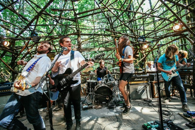 Diarrhea Planet at Pickathon, Happy Valley, Oregon, August 1-3, 2014 / Photo by Todd Cooper