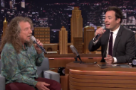 Robert Plant, Jimmy Fallon, and an iPad Are Your New Favorite Doo-Wop Group