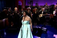 Aretha Keeps Adele's Legacy 'Rolling' on 'Letterman' Last Night