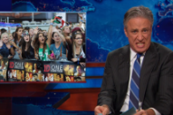 Jon Stewart Calls Crazed One Direction Fans 'Vicious'
