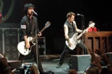green day rock and roll hall of fame