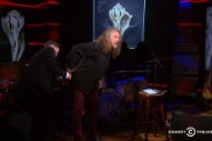 Robert Plant Brought a Joint to 'The Colbert Report' Last Night