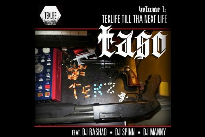 DJ Rashad DJ Spinn Taso 'Luchini VIP' Stream