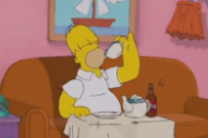 Cat Stevens' 'Tea for the Tillerman' Replaces Normal 'Simpsons' Couch Gag