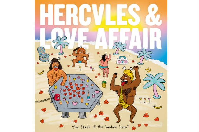 Hercules and Love Affair 'Do You Feel the Same' Stream 'Feast of the Broken Heart' album cover
