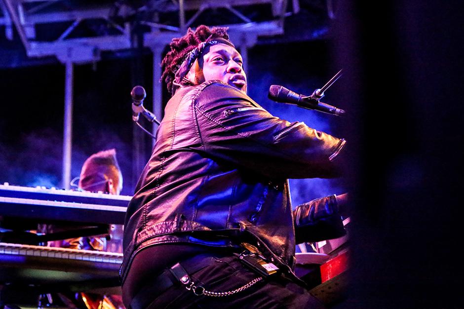 D'Angelo at Afropunk Fest, Brooklyn, August 23-24, 2014