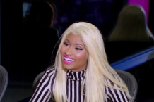 Nicki Minaj, in awe of Steven Tyler in a wig