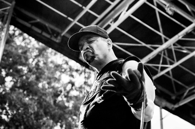 Ice-T with Body Count at Afropunk Fest, Brooklyn, August 23-24, 2014 / Photo by Krista Schlueter