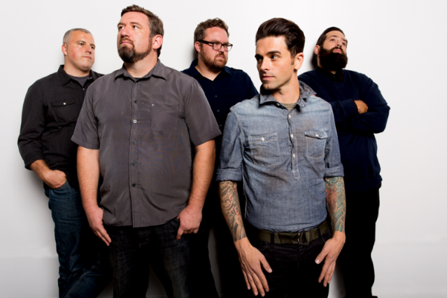 Further Seems Forever and Chris Carrabba (second from Right) / Photo by John Paul Douglass