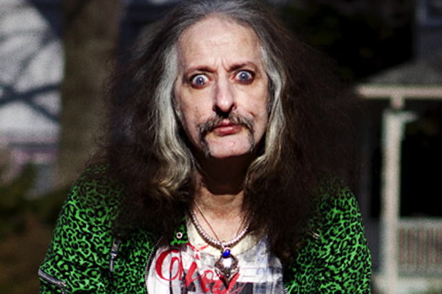 Bobby Liebling, shot for SPIN in Ridley Park, PA on March 4, 2011 / Photo by Steven Brahms