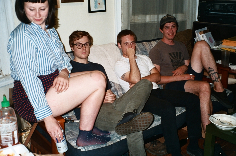 Swearin' Coat Their Fuzzy Pop-Punk With Grit and Integrity on 'Surfing Strange'
