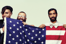 Das Racist, shot for SPIN's November 2011 issue by Christian Anwander