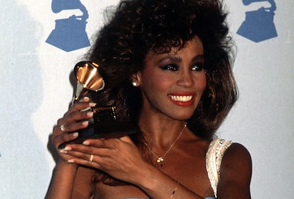 Whitney Houston at her first Grammy Awards in 1986 [Photo: Ron Galella Collection/Getty Images]