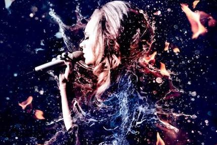 Adele's Grammy poster
