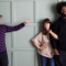Bobby Moynihan, Feist, and ?uestlove / Photo by Steven Brahms