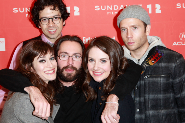 Alison brie dating martin starr