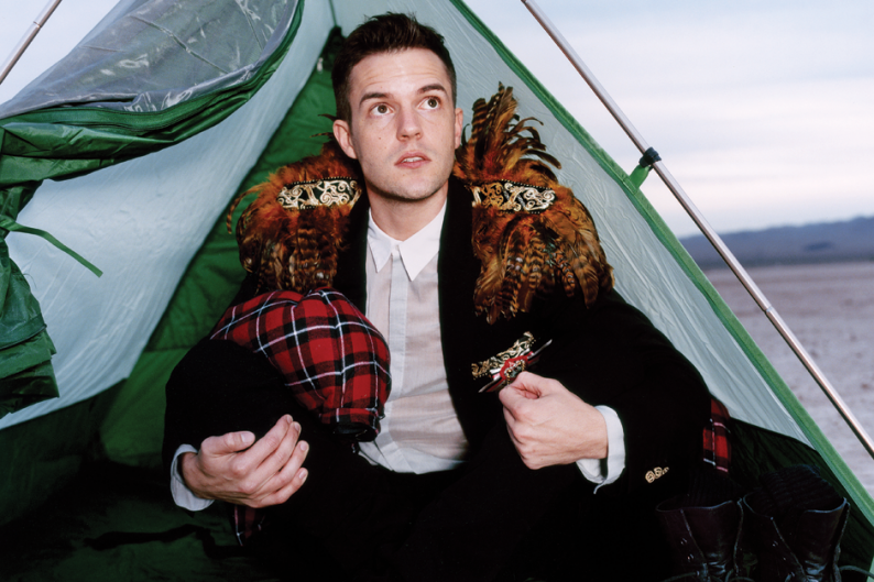 Brandon Flowers / Photo by Ture Lillegraven