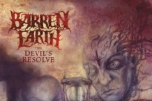 Barren Earth, 'The Devil's Resolve' (Peaceville)