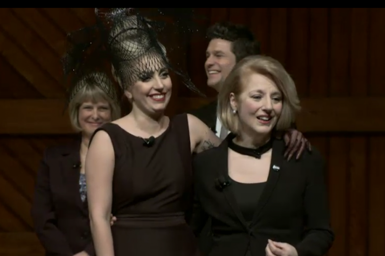 lady gaga harvard Stefani joanne angelina germanotta (born march 28, 1986), known professionally as lady gaga, is an american singer, songwriter, and actress deepak chopra, and us secretary of health and human services kathleen sebelius spoke at the foundation's inauguration at harvard university.