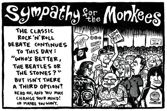 Sympathy for the Monkees Ward Sutton