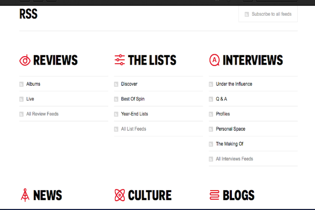 Looking for SPIN's RSS Feeds? Step This Way… | SPIN