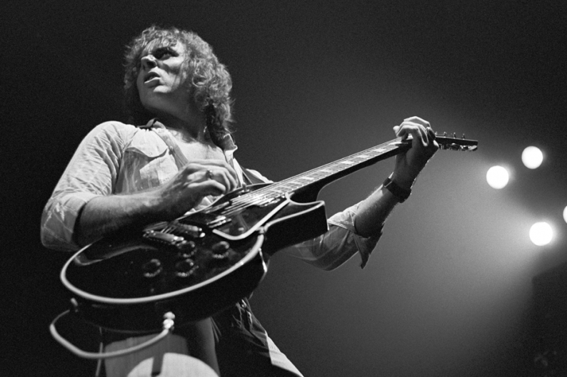 Ronnie Montrose in 1975. Photo: Tom Hill/WireImage