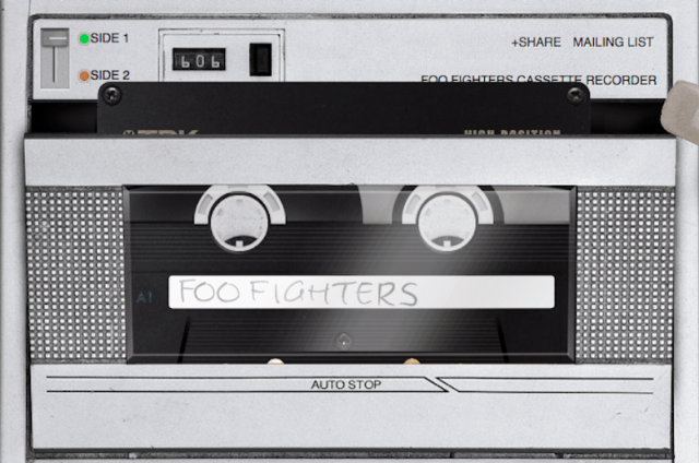 Foo Fighters tape