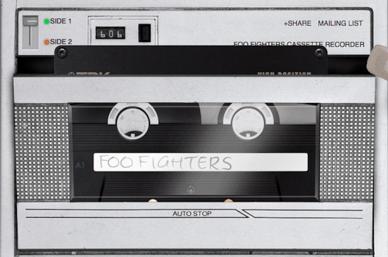 Foo Fighters tape
