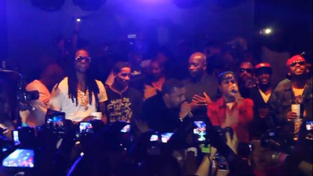 Kanye, 2 Chainz and Big Sean / Lryda420