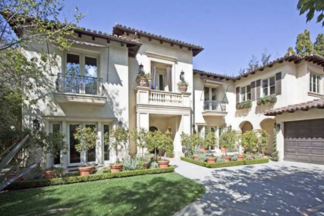 Britney's house / Photo via Realestalker.com