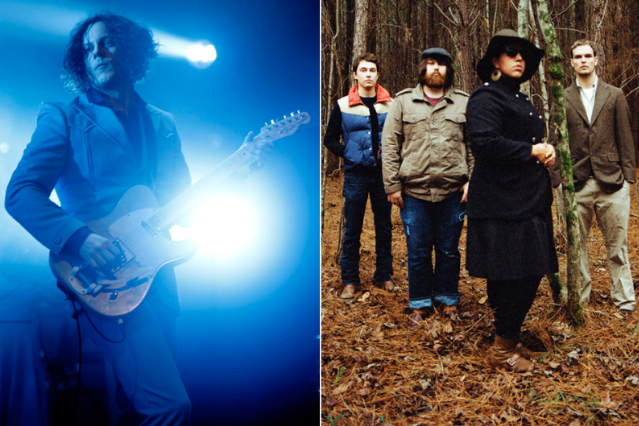 Jack White and Alabama Shakes / White photo by Jo McCaughey/Third Man Records