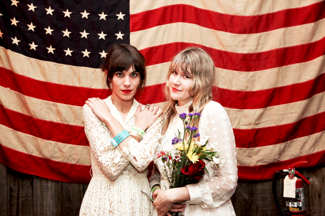 Alexa Chung and Tennessee Thomas